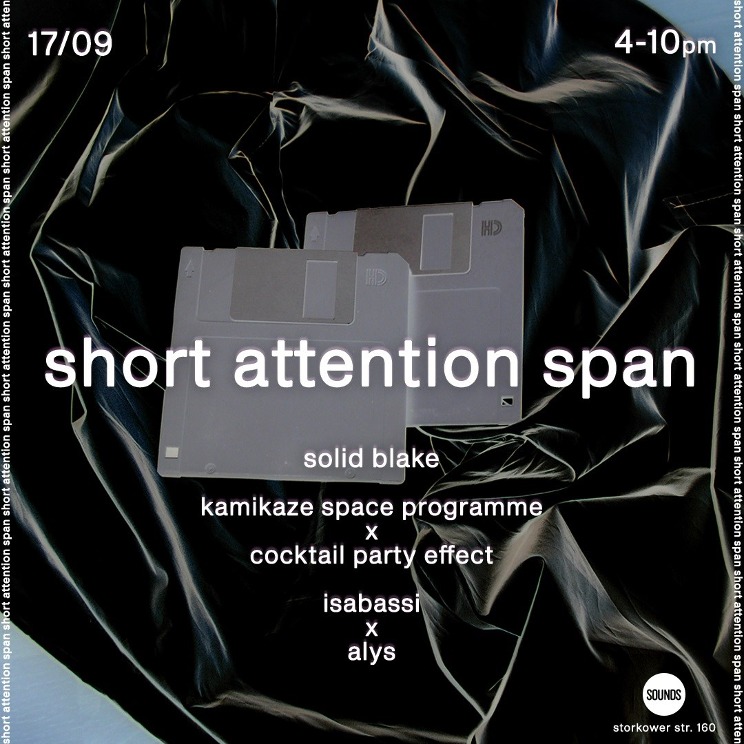 Short Attention Span - Flyer front