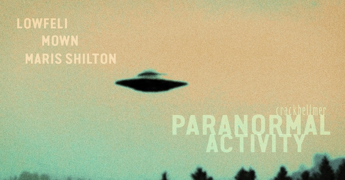 Paranormal Activity - Flyer front