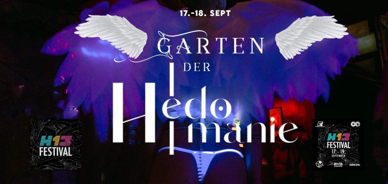 Garten Der Hedomanie at H13 - Flyer front