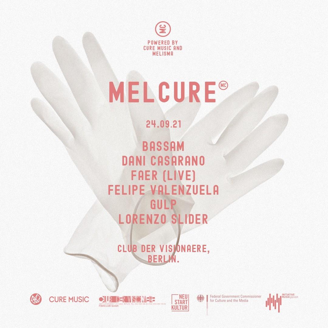 Melcure - Flyer front