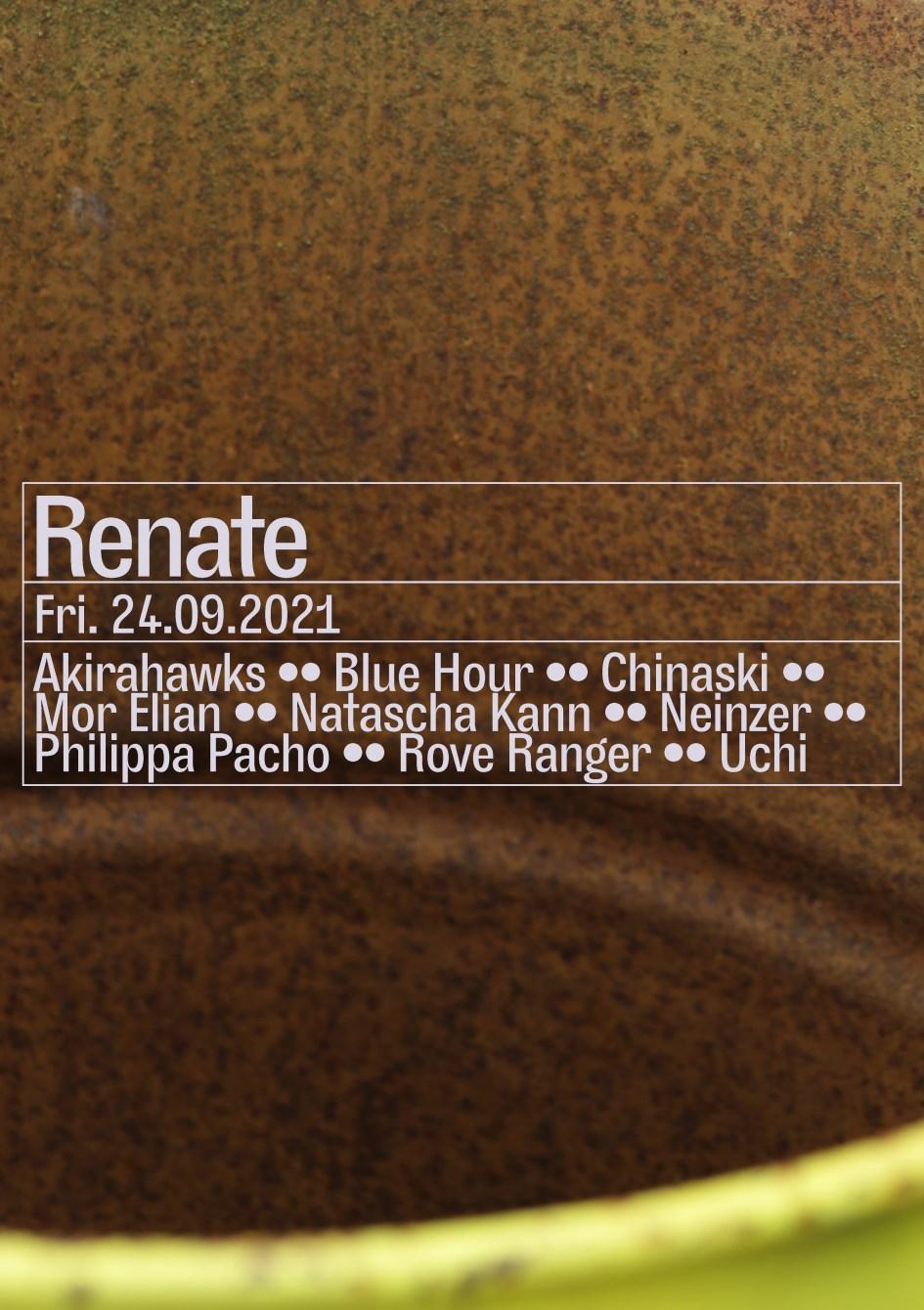 Mor Elian, Blue Hour, Rove Ranger, Chinaski - Flyer front