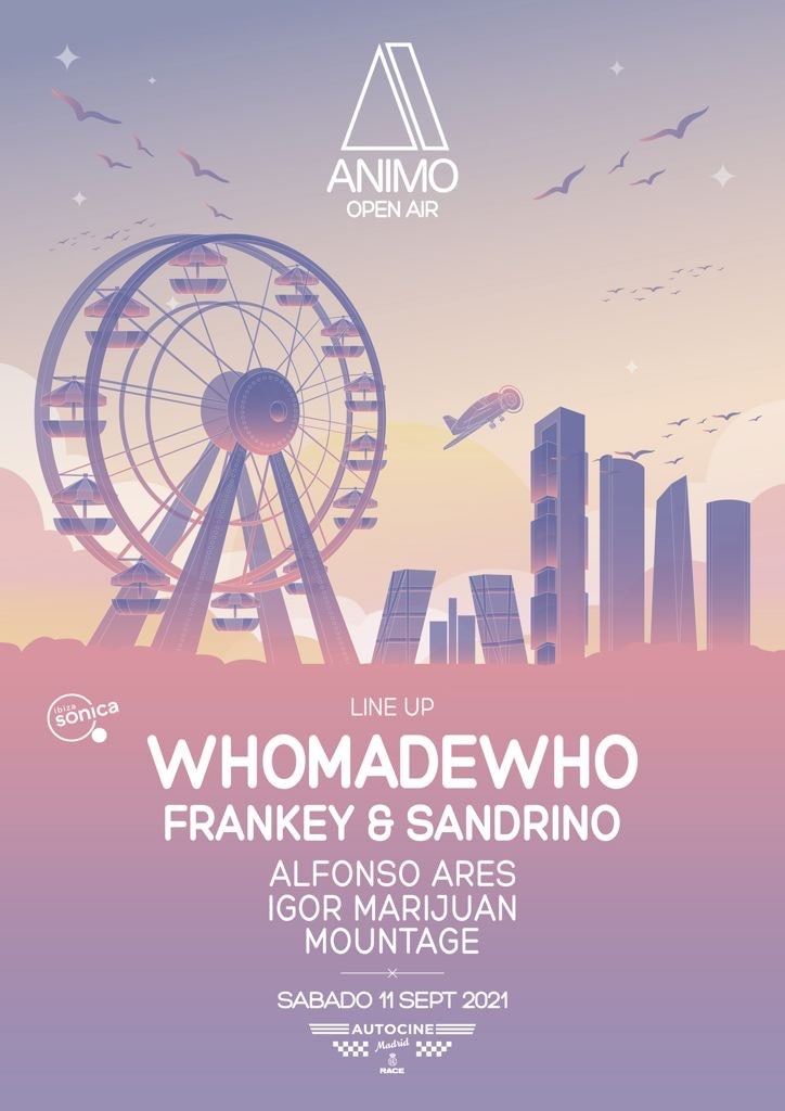 Animo 'Open Air' - Flyer front