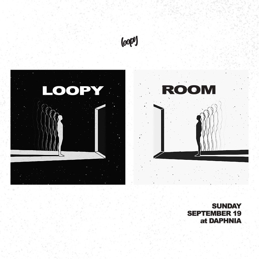 Loopy Room - Flyer front
