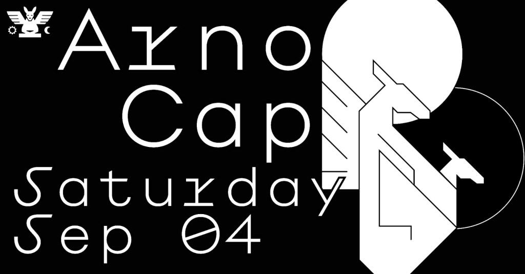 GH 04.09: Arno / cap - Flyer front