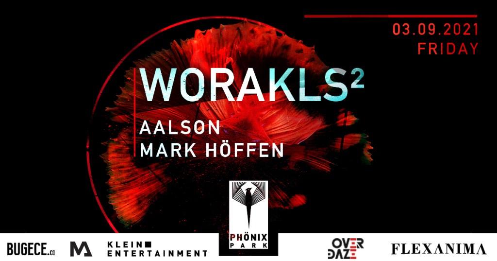 Worakls², Aalson, Mark Höffen - Flyer back