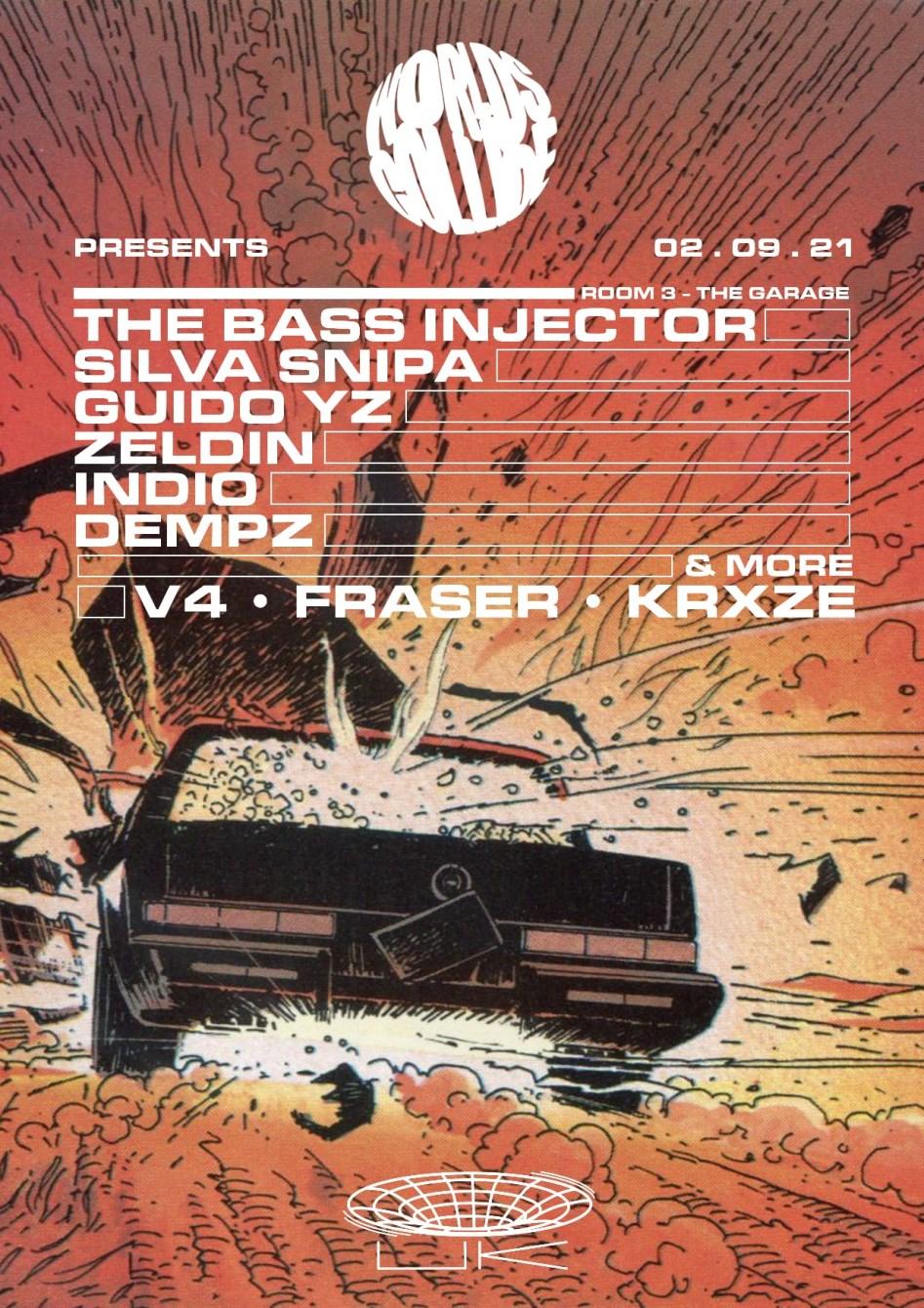 Worlds Collide - Darkzy, Mandidextrous, MPH, Bornonroad DJs, Critical Impact, DJ Hybrid & More - Flyer back