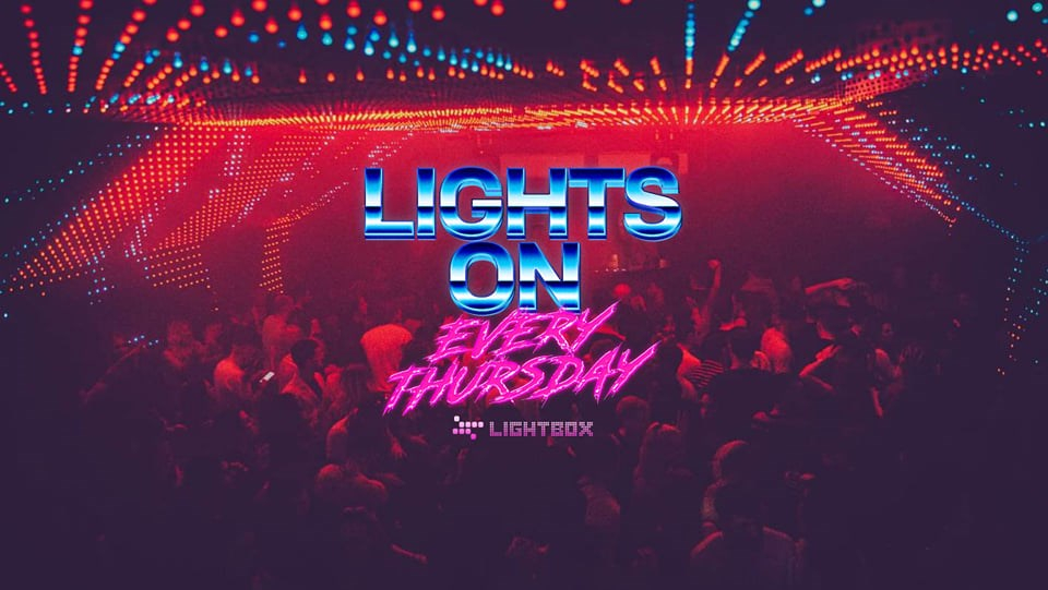 Lights ON Every Thursday - Flyer front