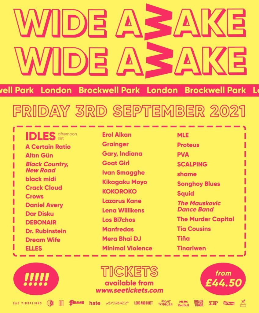 Wide Awake Festival - Flyer front