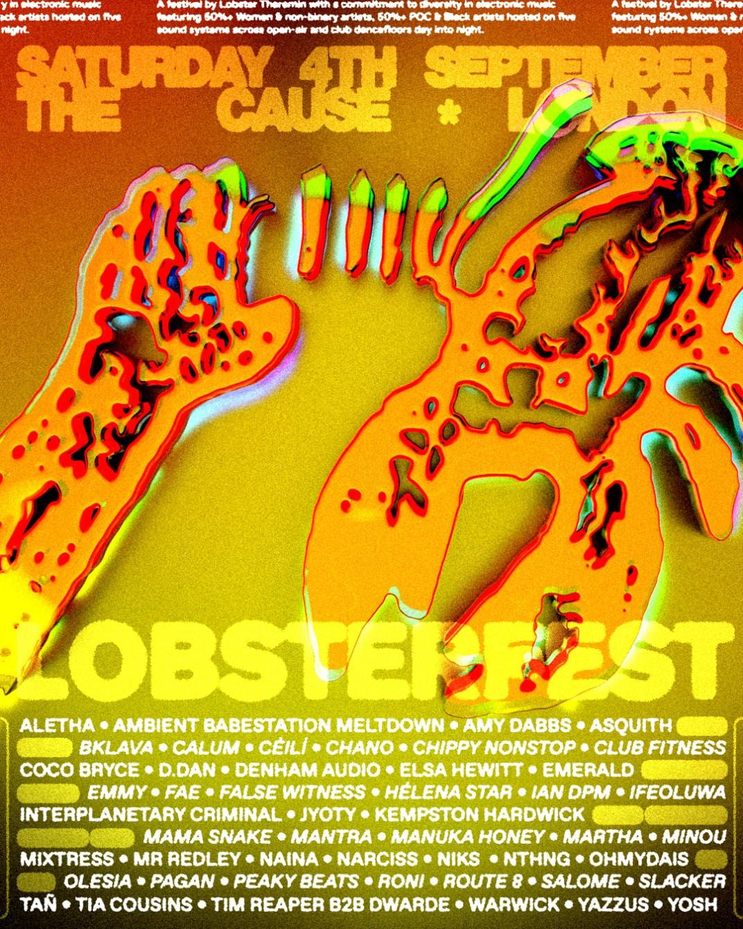 LOBSTERFEST - Flyer back