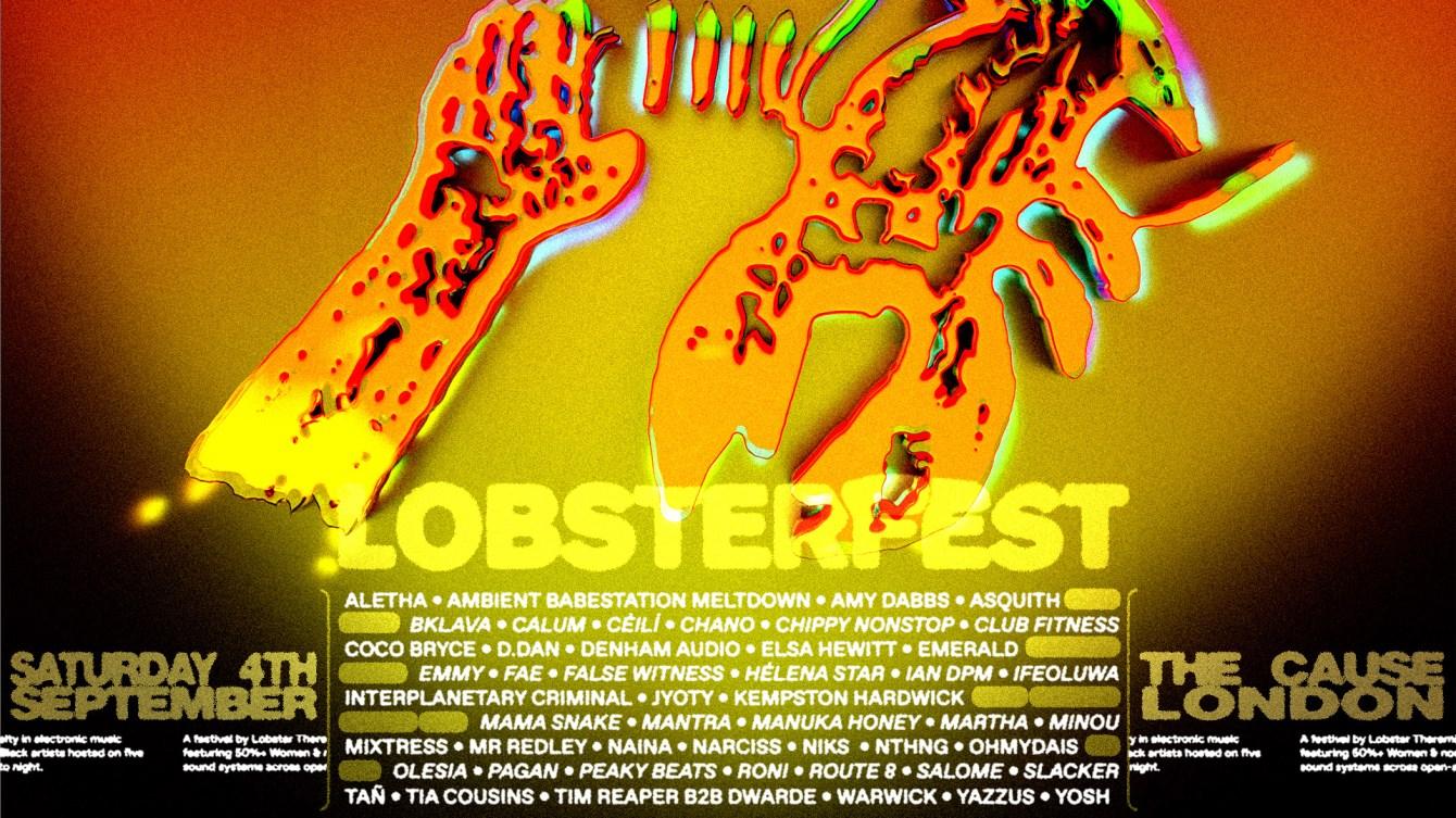 LOBSTERFEST - Flyer front