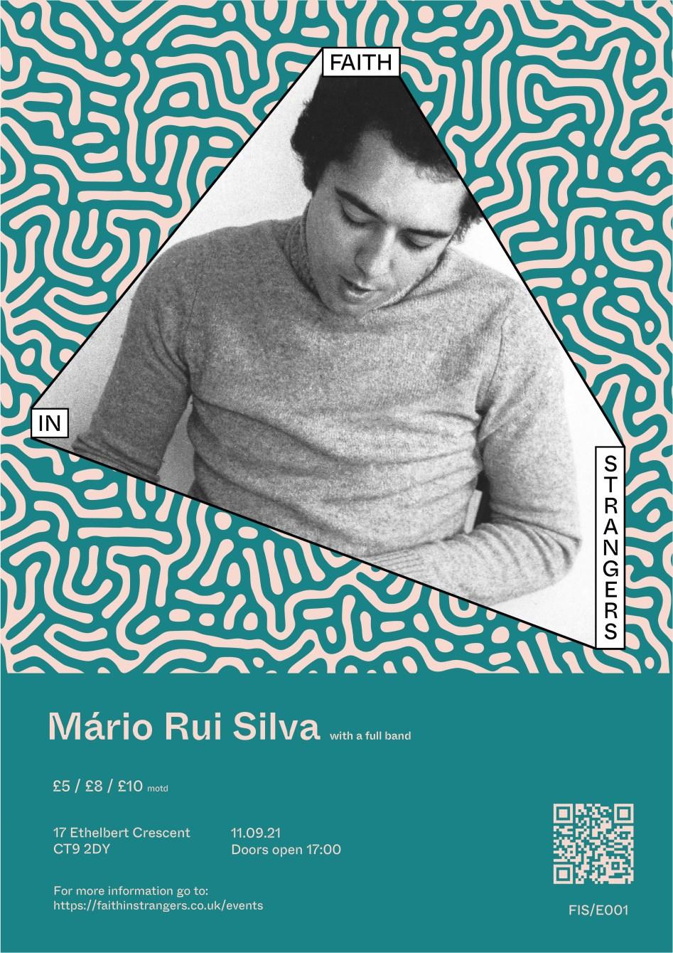 Mário Rui Silva - Flyer front