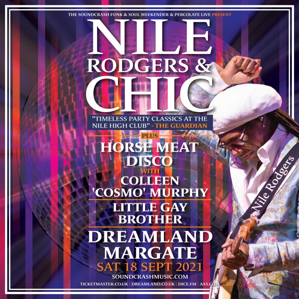Nile Rodgers & CHIC - Flyer front