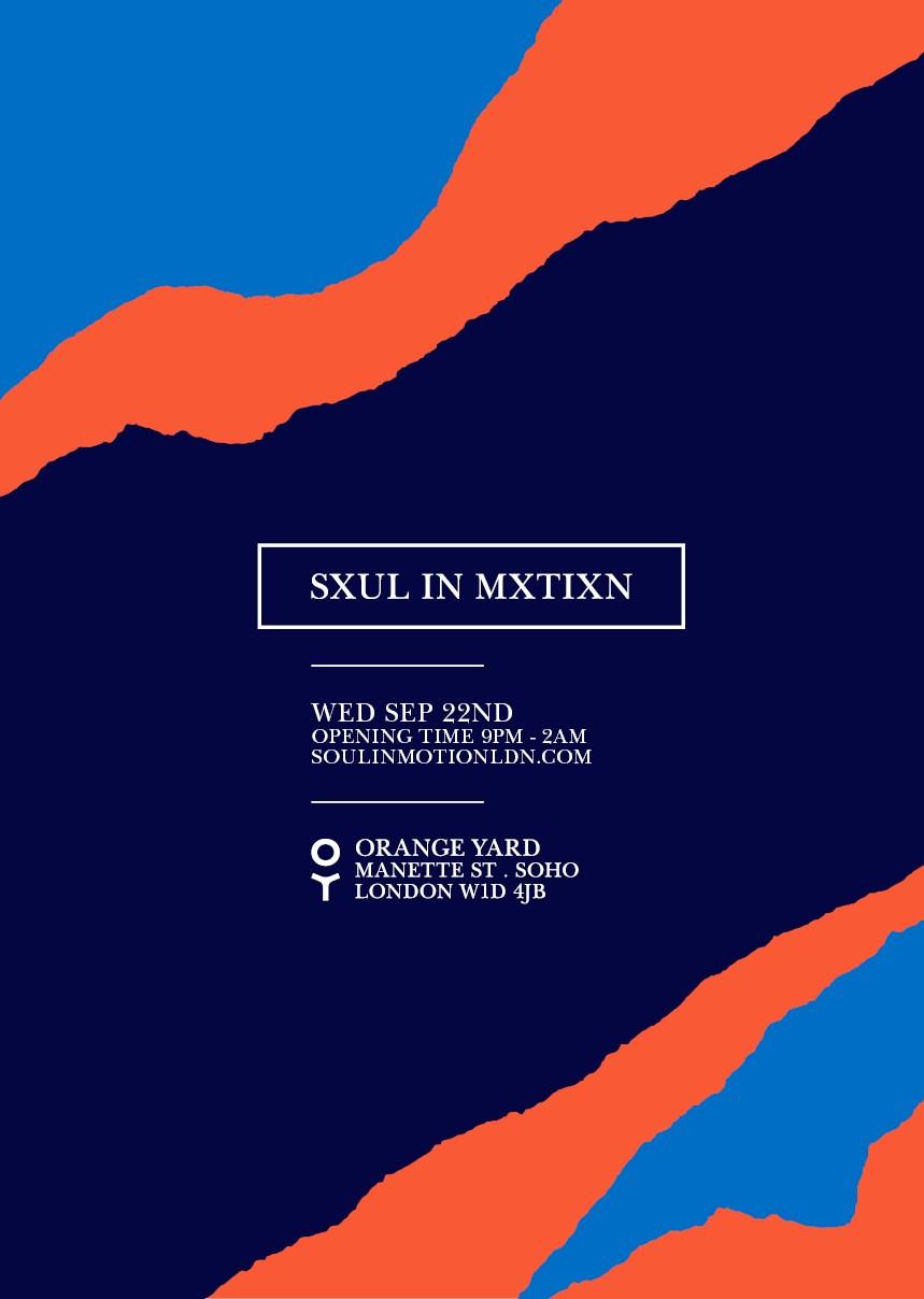 Soul In Motion - Flyer back