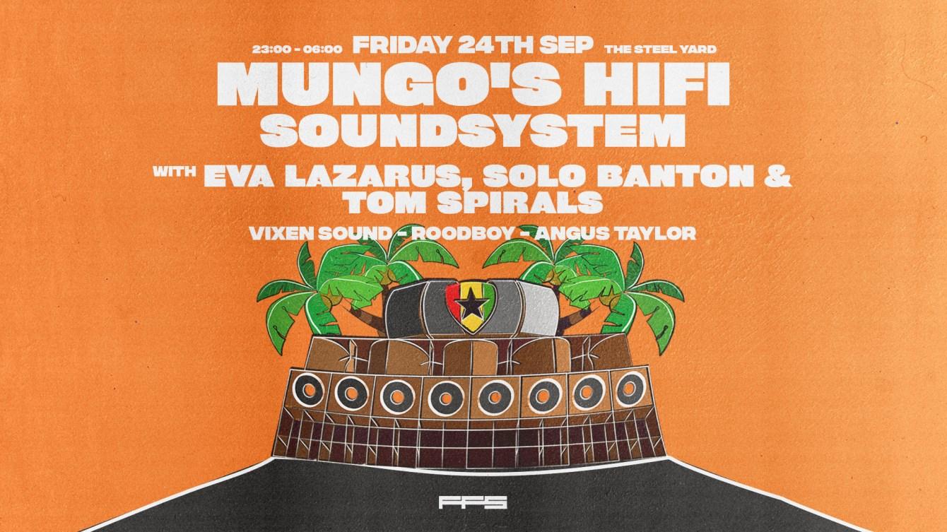 Mungo's Hifi Soundsystem - Flyer front