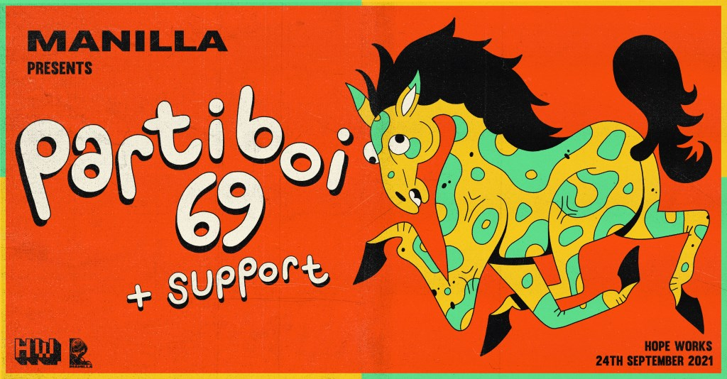 Manilla x Hope Works presents: Partiboi69 - Flyer front