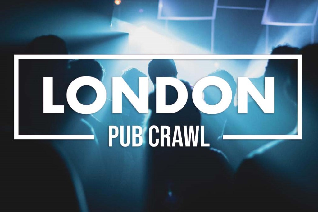 West End Pub Crawl // 5 Venues // Free Shots // Discounted Drinks More - Flyer front