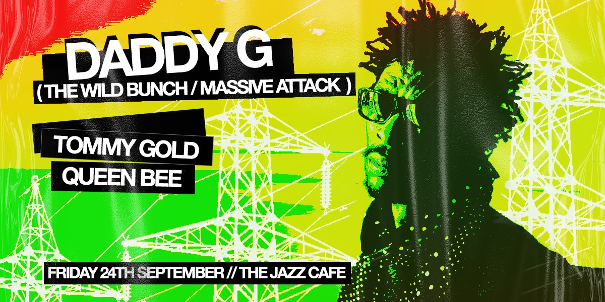 Daddy G (Massive Attack) - Flyer front
