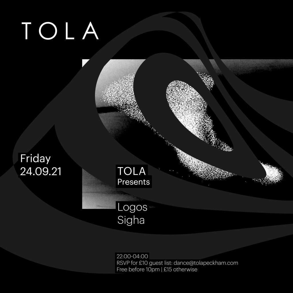 Tola presents with Logos & Sigha - Flyer front