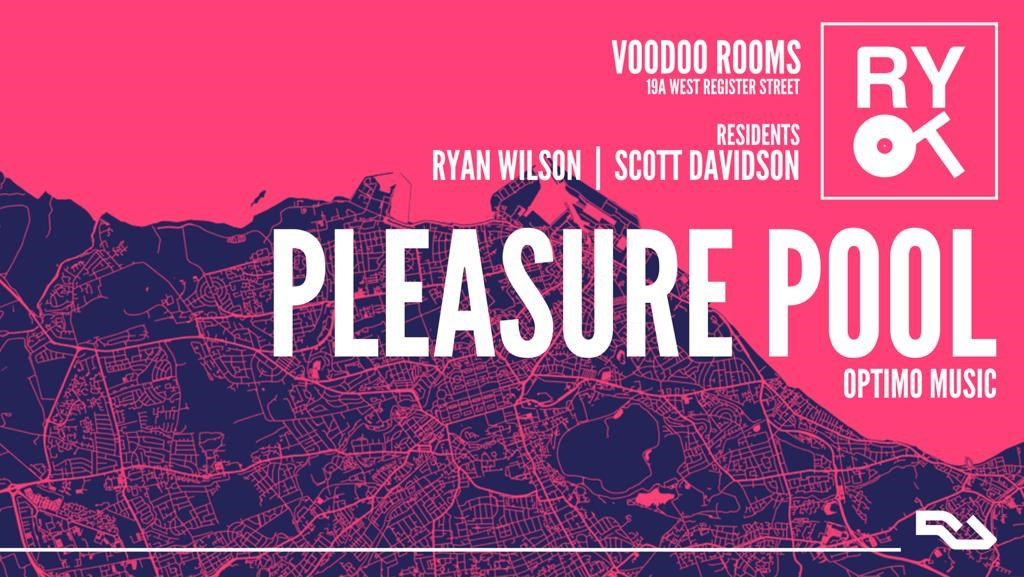 Back to Ryot with Pleasure Pool - Flyer front