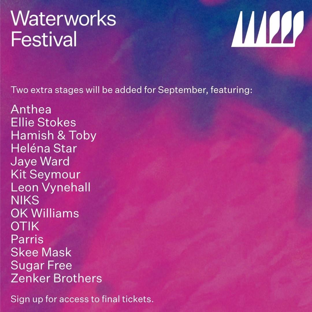 Waterworks Festival - Flyer back