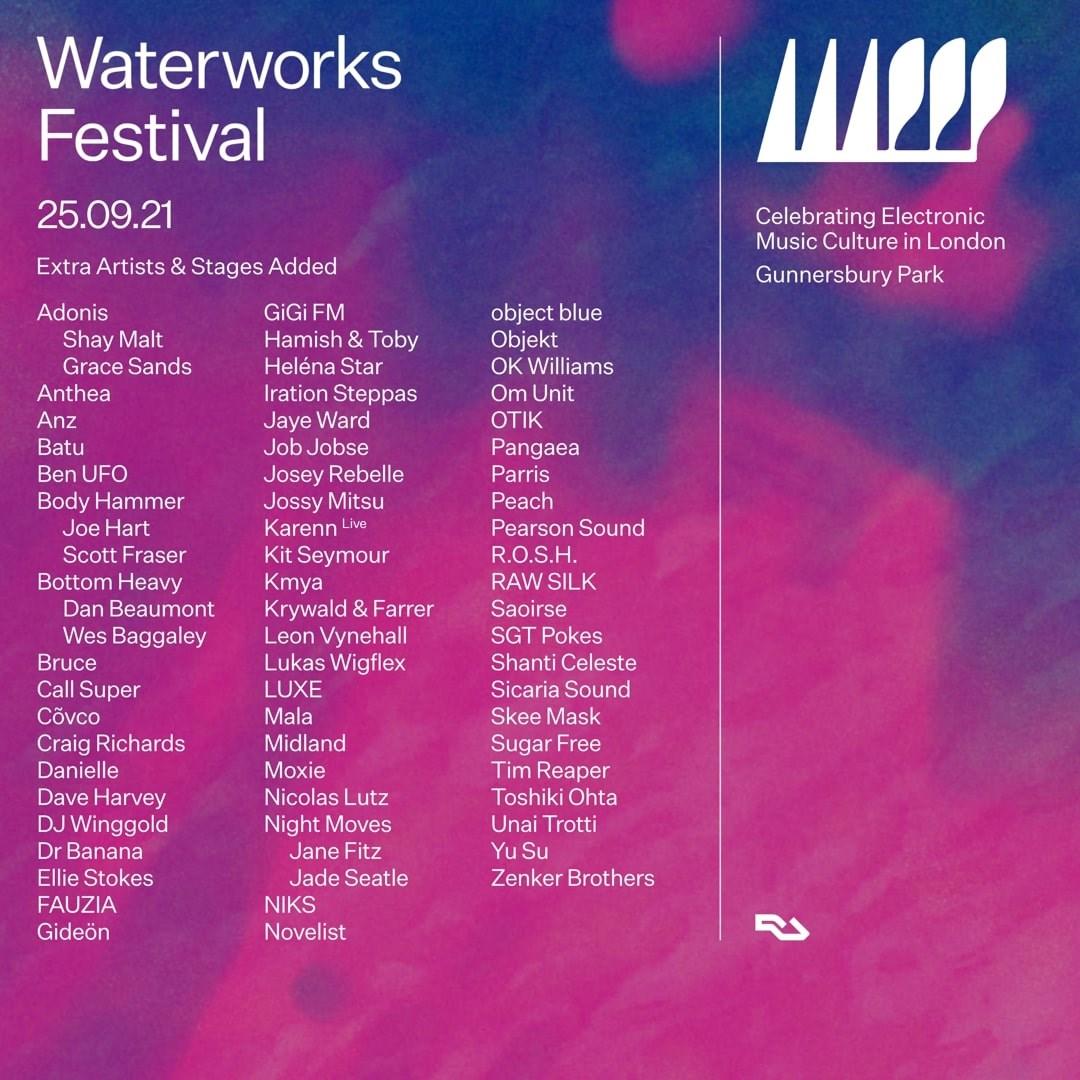 Waterworks Festival - Flyer front