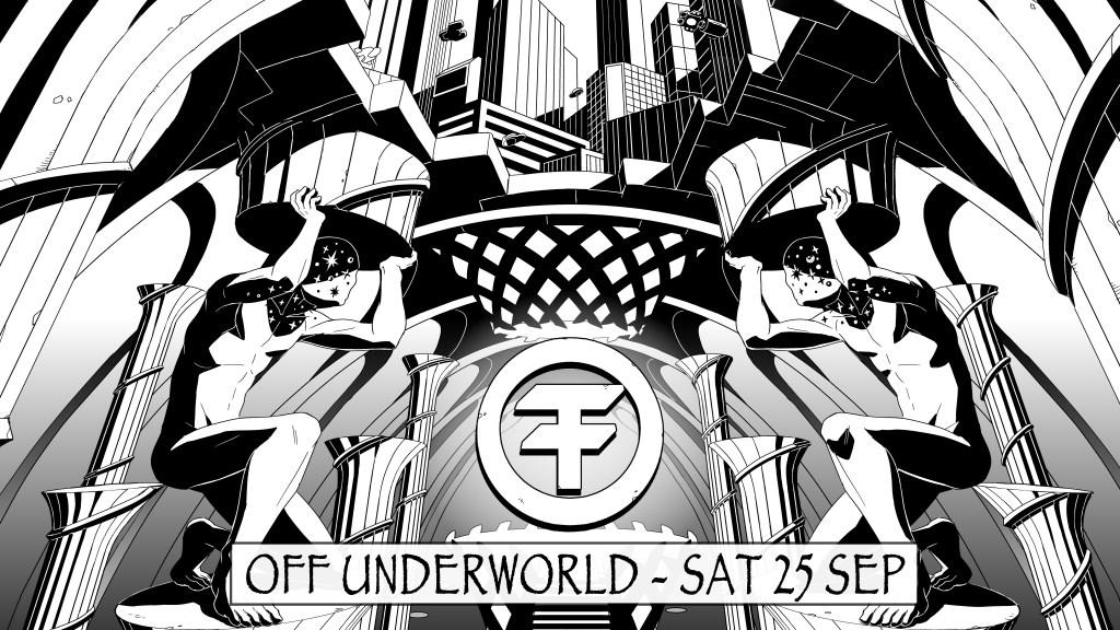OFF - Underworld - Flyer front
