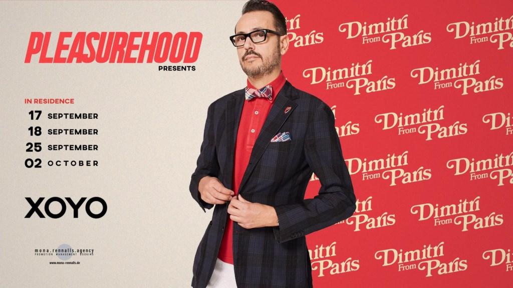 Dimitri From Paris - Xoyo London Residency - Flyer front