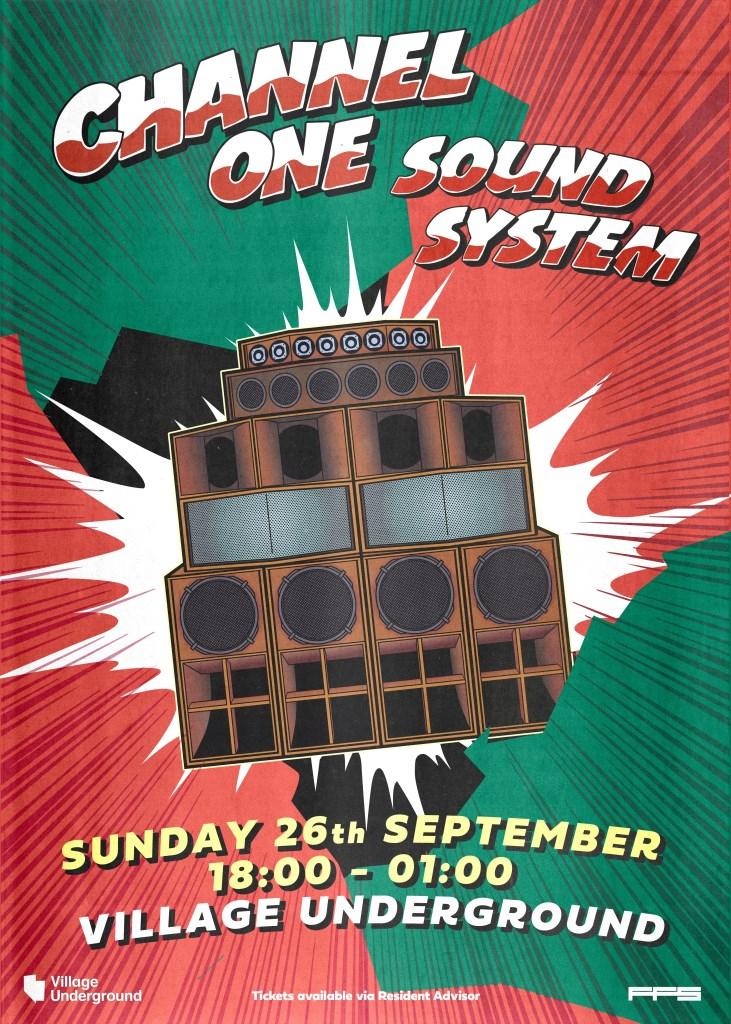 Channel One Soundsystem – Eastside Session - Flyer back