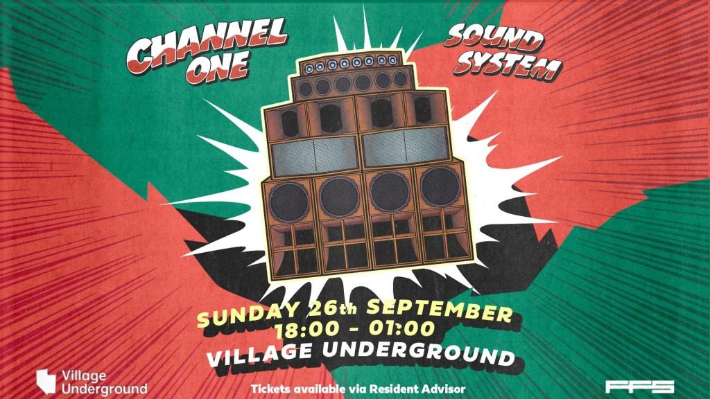 Channel One Soundsystem – Eastside Session - Flyer front