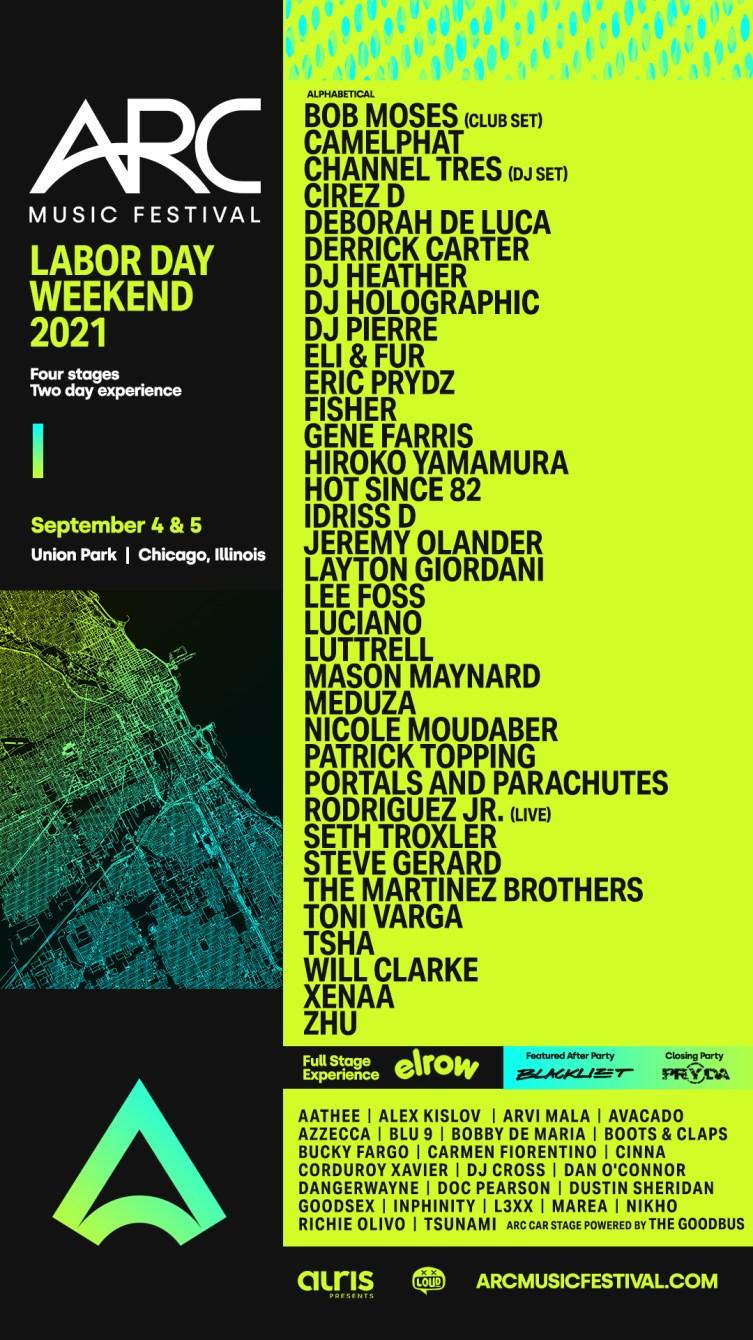 ARC Music Festival - Flyer front
