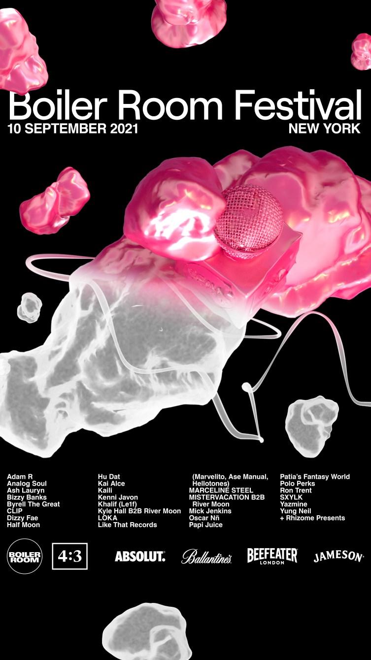 Boiler Room Festival New York City - Flyer front