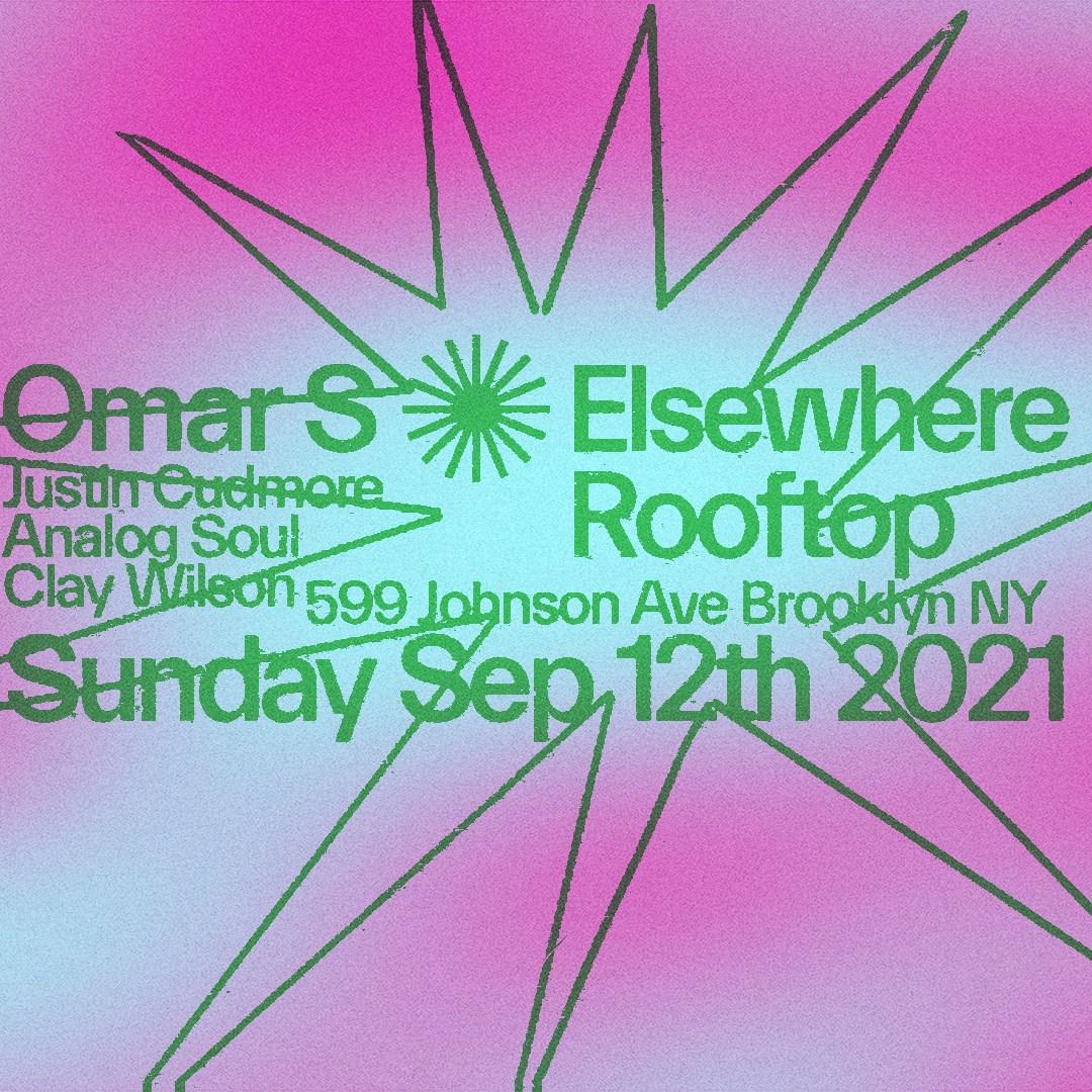Omar S, Justin Cudmore, Analog Soul, Clay Wilson - Flyer back