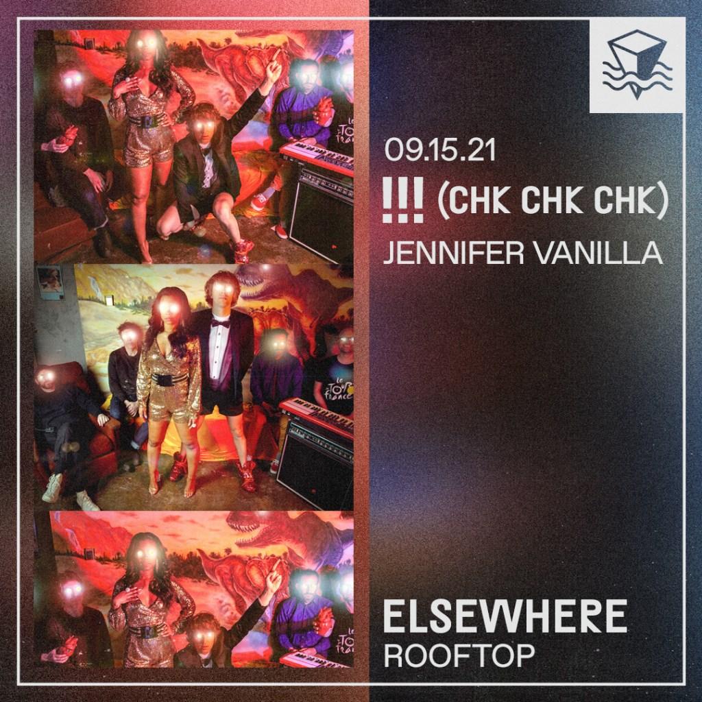 (Chk Chk Chk), Jennifer Vanilla - Flyer back