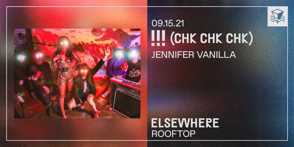 (Chk Chk Chk), Jennifer Vanilla - Flyer front