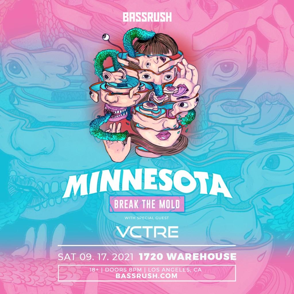 Minnesota Postponed - Date TBD - Flyer front