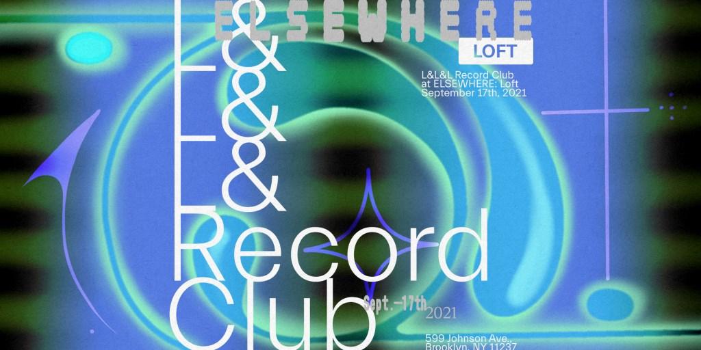 L&l&l Record Club - Flyer front
