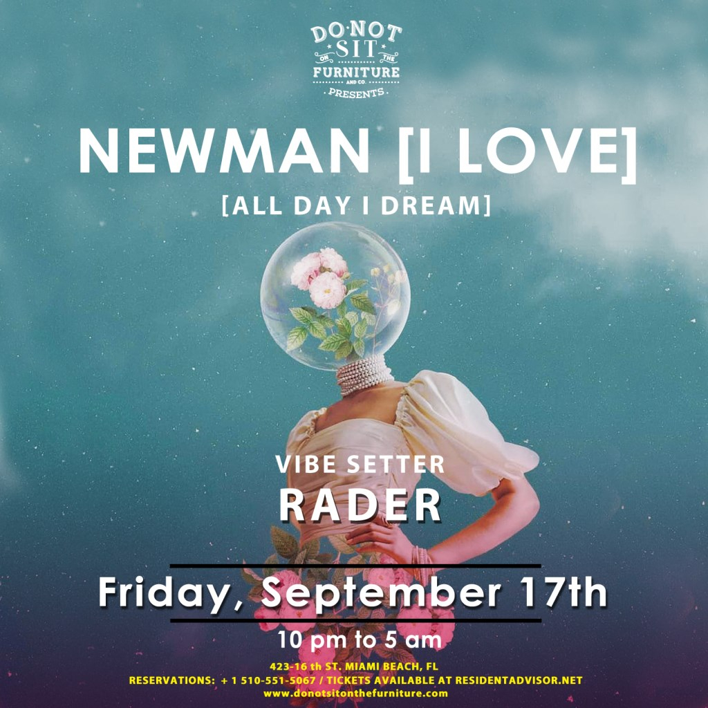 Newman [All Day I Dream] - Flyer front