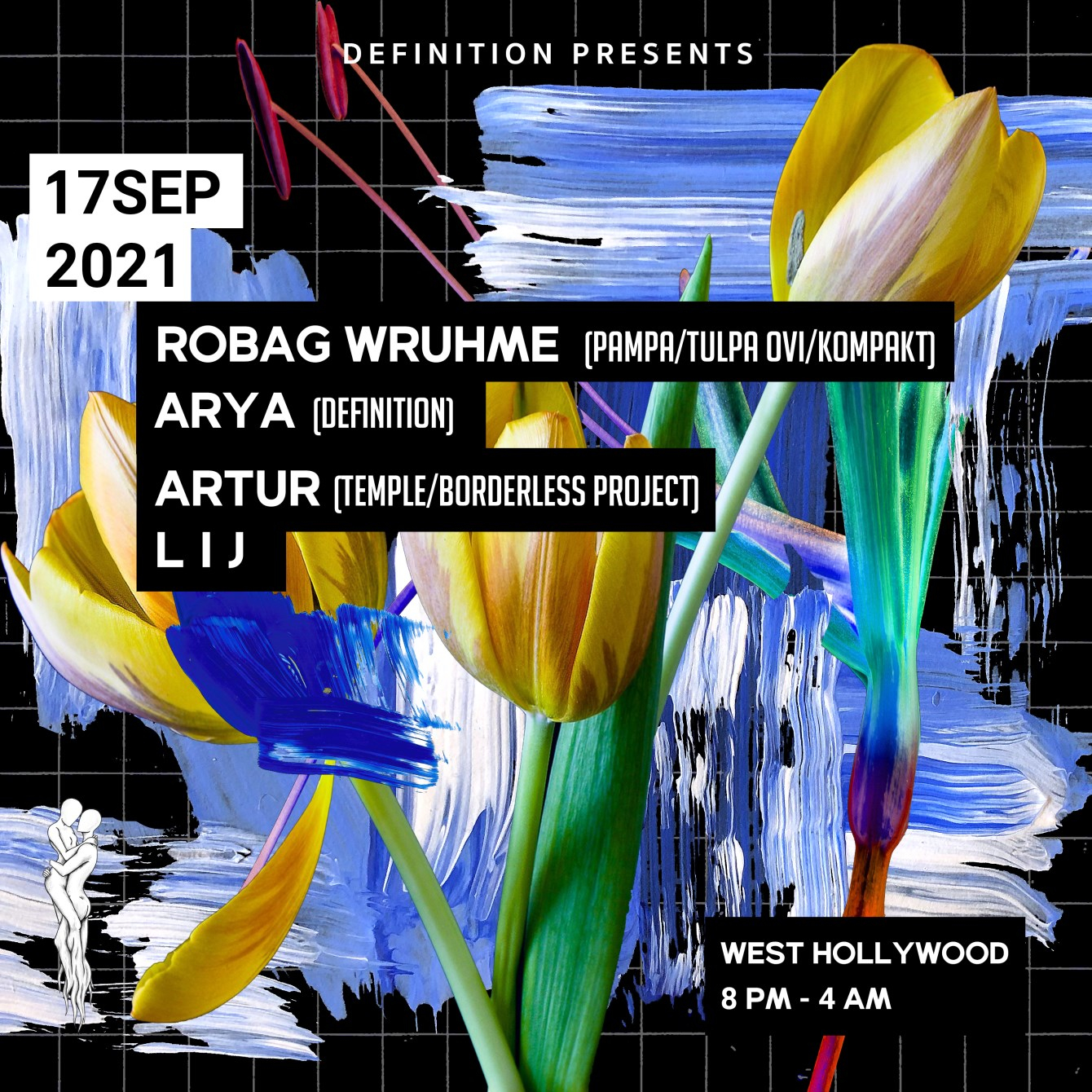Definition presents: Robag Wruhme (Pampa) - Flyer front