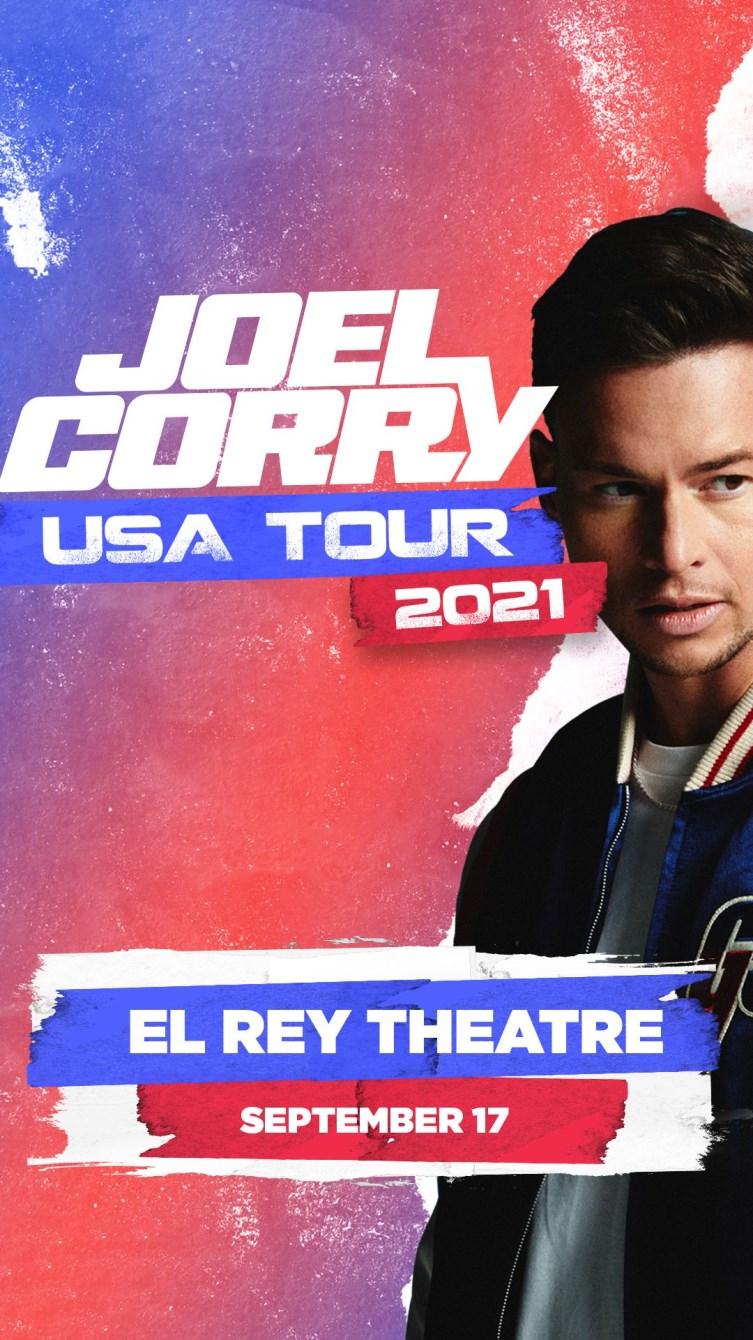 Joel Corry - Flyer front