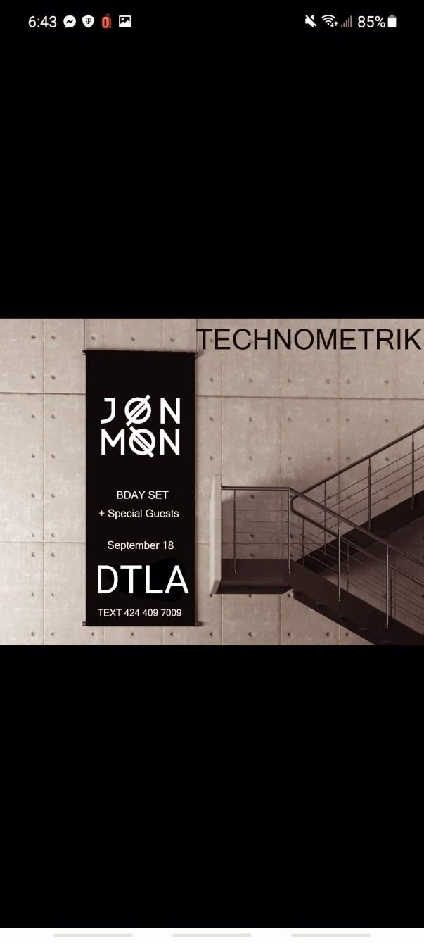 Technometrik - Flyer front