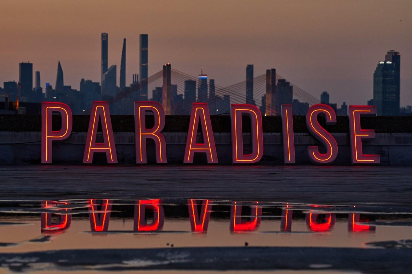 Jamie Jones presents Paradise New York - The Brooklyn Mirage - Flyer back