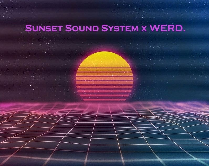 Sunset Picnic After-Party! presented by Werd and Sunset Sound System - Flyer front
