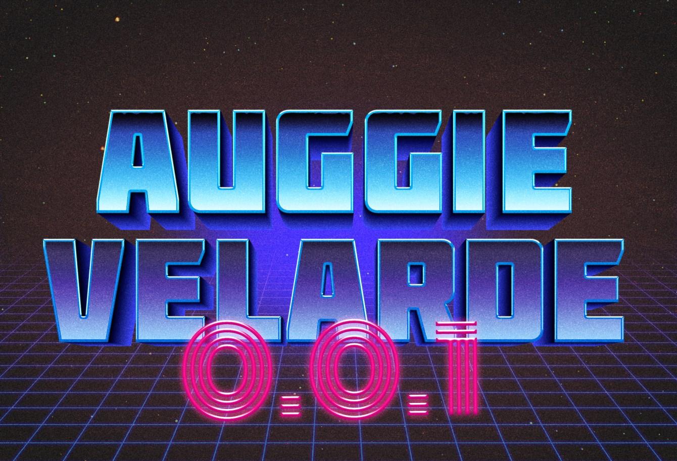 Auggie Velarde - Sessions - Flyer front