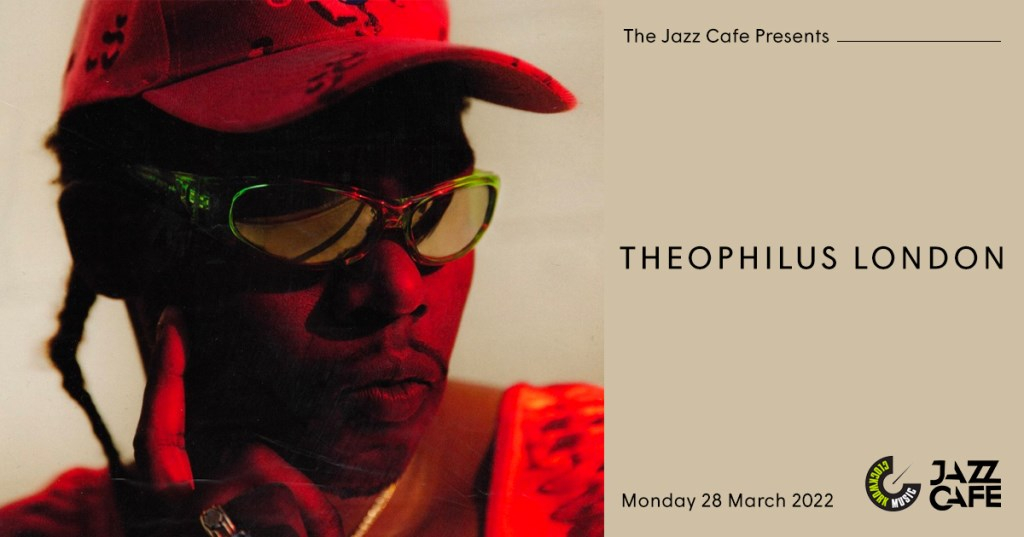 Theophilus London - Flyer front
