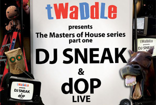 Twaddle launch Masters of House with DJ Sneak image