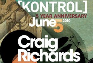 Kontrol turns 5 with Craig Richards image