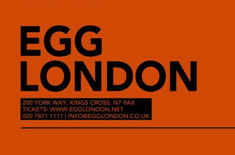 Egg London announces full autumn programme image