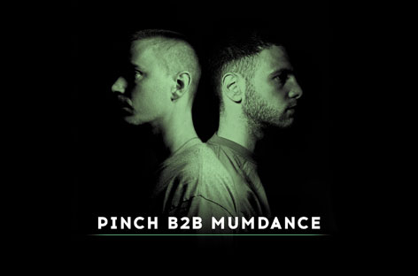 Pinch and Mumdance go back-to-back on mix CD image