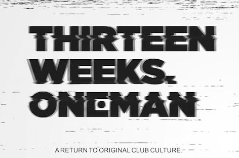 Oneman next up for XOYO's 13-week residency image
