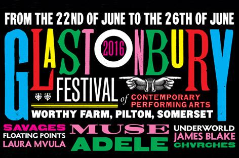 Glastonburyが2016年の第一弾ラインナップを発表 image